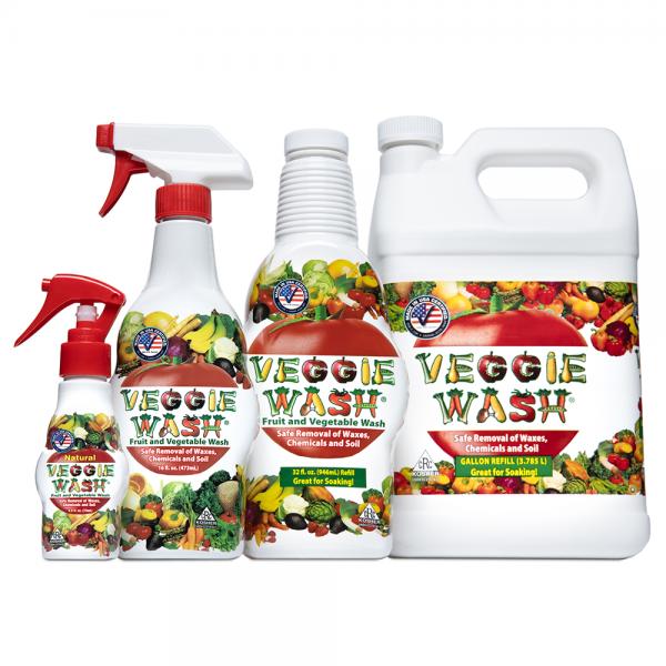 Original Veggie Wash Family